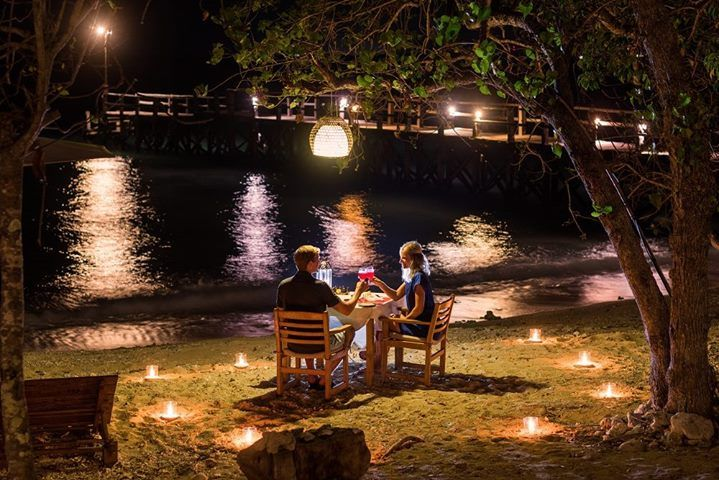 A romantic dinner right on the beach surrounded by the pristine forest of West Bali National Park.  Bring your spouse to this beautiful resort and make sure you book a romantic dinner for your honeymoon or vacation in Bali.  http://ift.tt/2yD5aHS  #nusabay #nusabaymenjangan #wakahotelsandresorts #westbali #westbalinationalpark #nationalpark #yoga #snorkeling #diving #scubadiving #dive #padi #cottage #resort #bali #ocean #summer #summerholiday #oceanlife #beachlife #wildlife #menjangan…