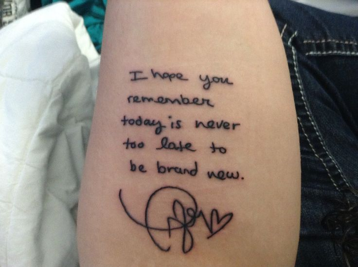 A fan had Innocent lyrics (hand-written by Taylor) tattooed onto her arm! Click to hear her story: http://withmeinmydoorway.tumblr.com/post/97648750003/i-really-didnt-plan-on-posting-this-on-tumblr