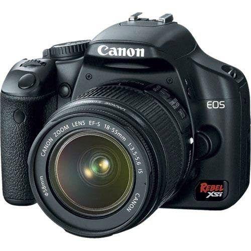 BuyCameraDSLR.com | Canon Rebel XSi DSLR Camera with EF-S 18-55mm f/3.5-5.6 IS Lens (OLD MODEL) | Buy Digital SLR Camera