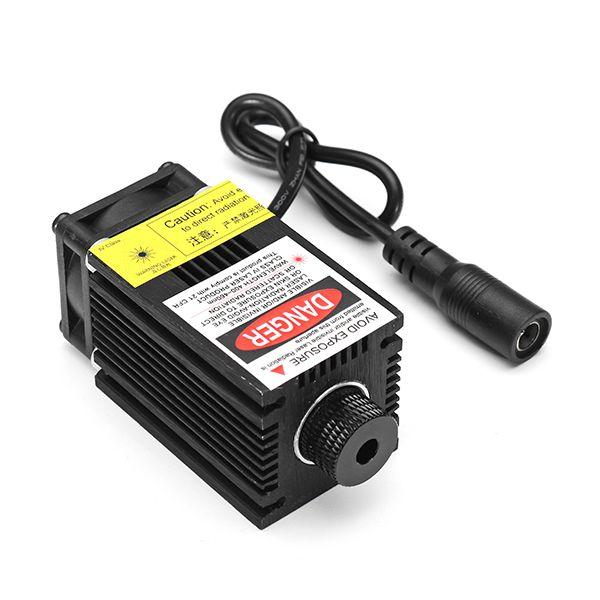 EleksMaker® LA03-500 405nm 500mW Blue Laser Module With Heat Sink For DIY Laser Engraver Machine