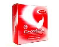 Co-Codamol 8/500 mg 32 caps.  Wat is Co-codamol? De werkzame stoffen in Co-codamol zijn paracetamol en codeïne: pijnstillende en prikkeldempende medicijnen. Paracetamol is koortsverlagend en blokkeert pijnsignalen die naar de hersenen worden gestuurd.  EUR 61.00  Meer informatie  #drogist