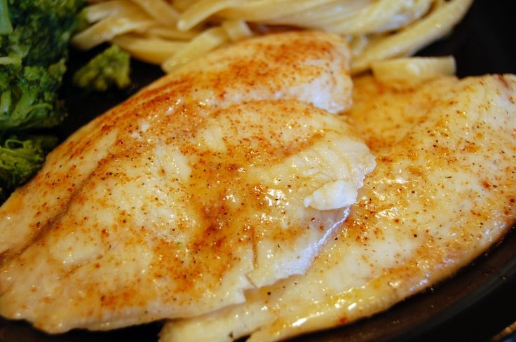 Tony s tilapia recipe 3 ingredient meals stick butter for Is tilapia a man made fish