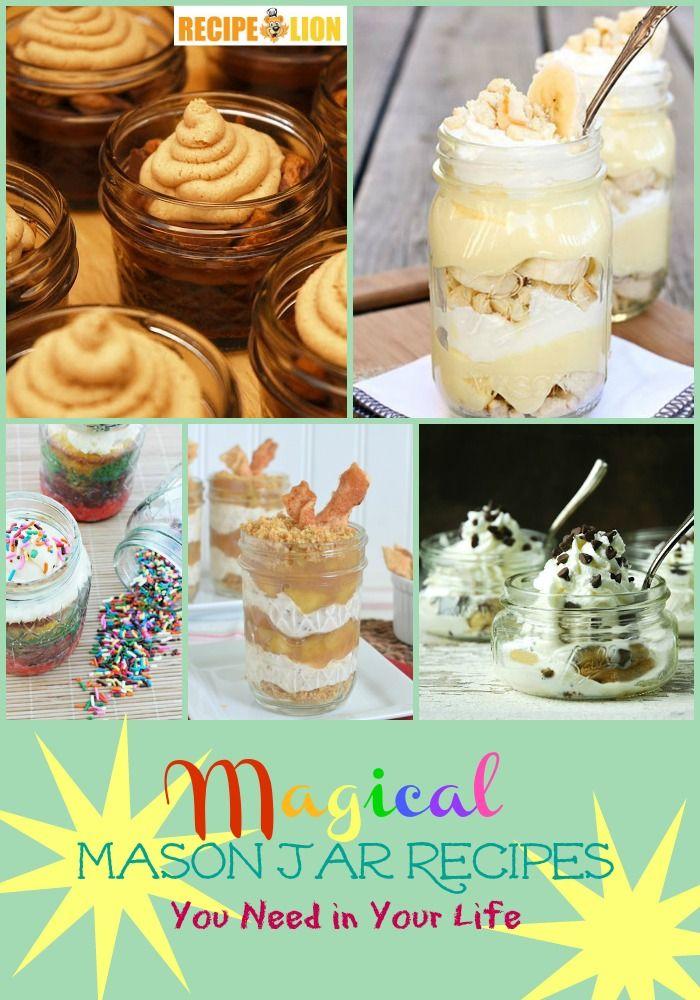 13 Magical Mason Jar Recipes
