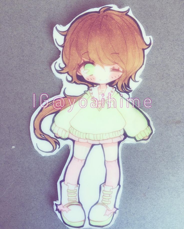 I drew my mabinogi character to put into my clear phone case...I still have to trim it a little but I'm looking for my cutting mat ;-; I play on Mari server mwahaha  #mabinogi