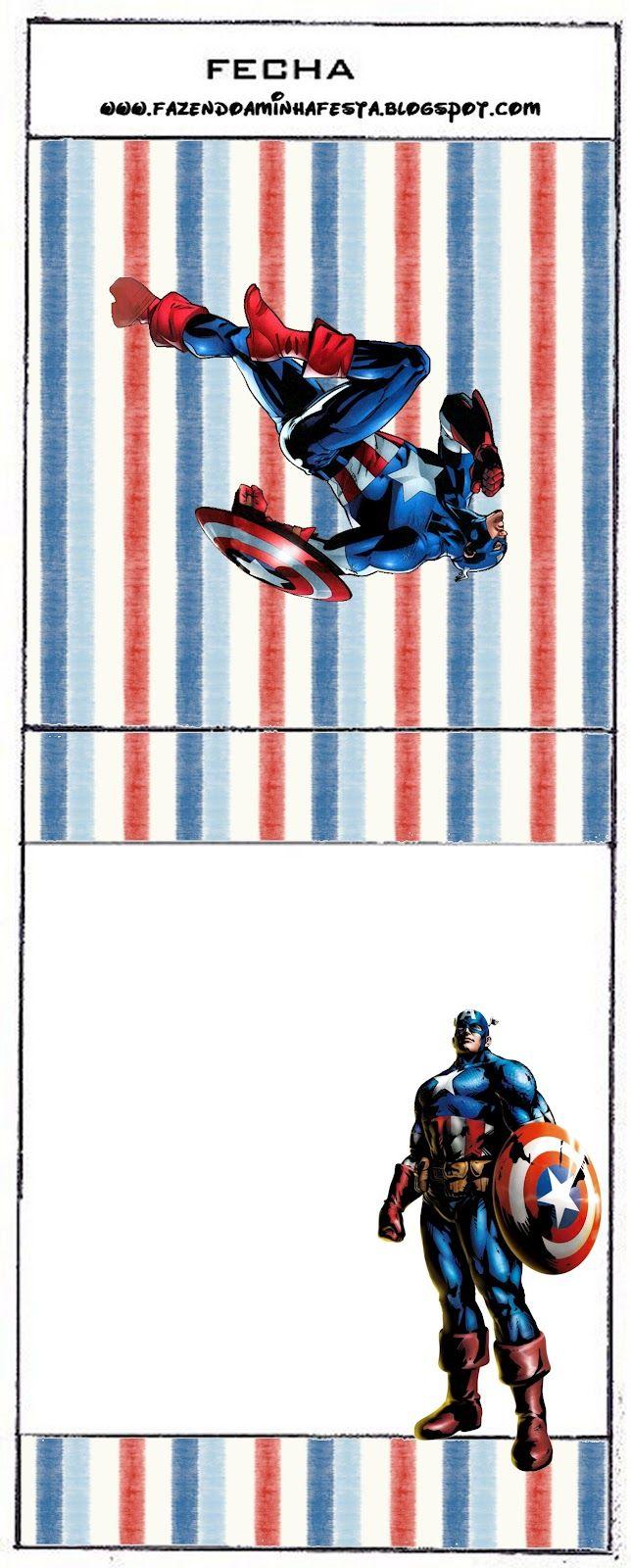 Captain America BalisesInvitations Tags
