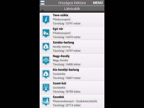 Országos Kéktúra - Android-alkalmazás a Google Playen