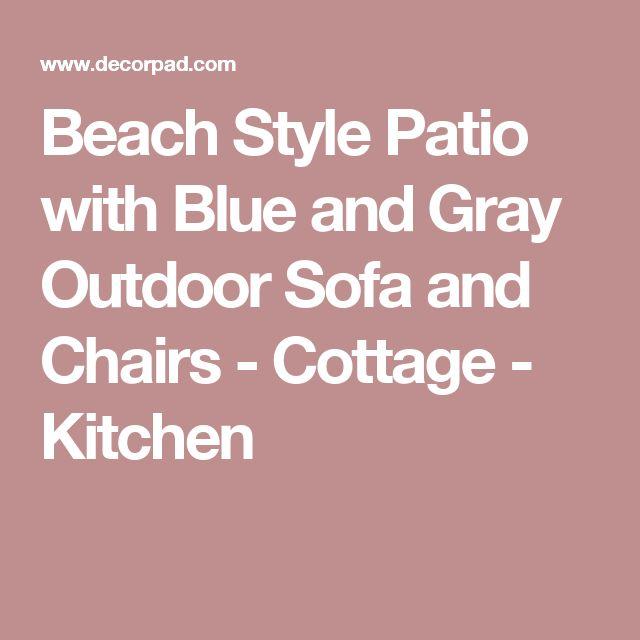 Die besten 25+ Strand stil sofas im außenbereich Ideen auf - zubehor fur den outdoor bereich