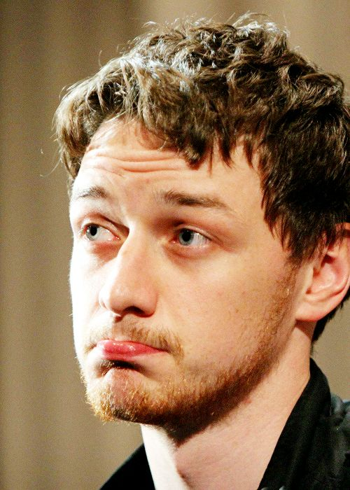 James McAvoy looks like our teacher of ancient philosophy, especially on this photo))