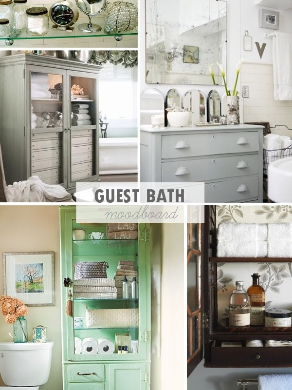 My Guest Bathroom Inspiration Board