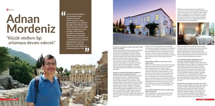 Interview with Tourism Today Magazine, Antalya, Turkey