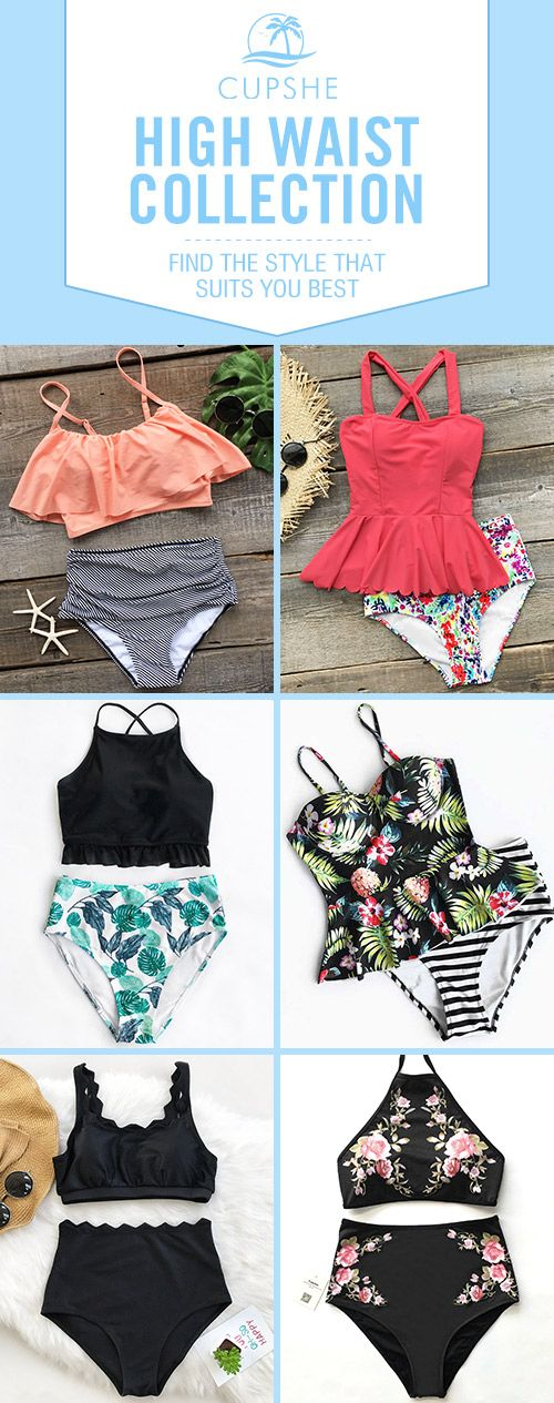 Have some fun in the sun. Tank top gives you comfy support and High-waisted fit gives you better experience.  Just show off my amazing hot wave during an beach trip to Hawaii! Find the one that suits you best!