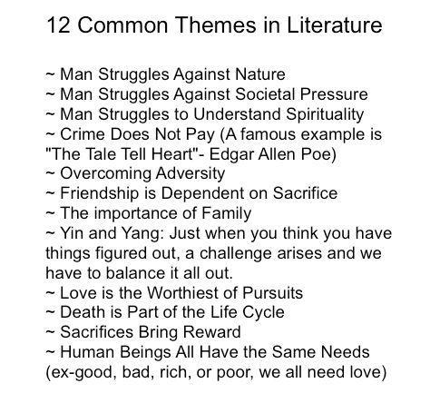writing literature