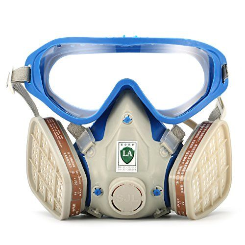 Respirator Gas Mask Safety Mask Comprehensive Cover Chemical Mask