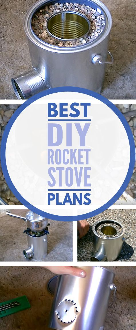 The 25 best diy rocket stove ideas on pinterest for Homemade rocket stove plans
