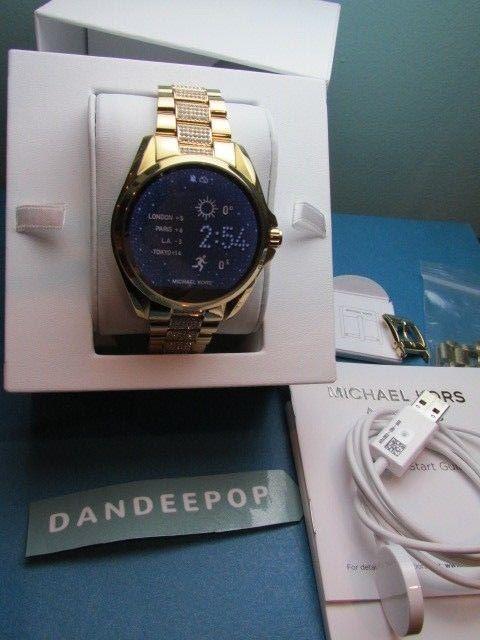 9335ddb93a6e Michael Kors Access Bradshaw Women s Designer Gold Tone Touch Watch DW2C  MKT5002  MichaelKors  watch
