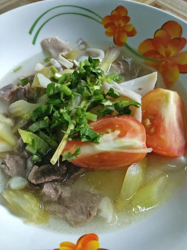 Cara Cara Masak Sup Daging Thai Tanpa Guna Rempah Sup Bunjut Rasa Soup Recipes Cara Cara Recipes