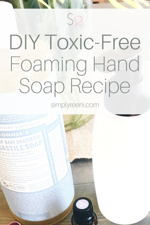 A question I get asked a lot is how to use essential oils to create toxic-free and inexpensive products for your home. I decided to share my DIY Toxic-Free Foaming Hand Soap Recipe! I have tried a lot of recipes, and I love this one the most by far! I hope you enjoy it as well✨