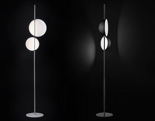 Oluce - Floor lamps : Superluna - 397