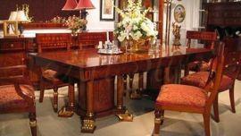 Stylowy stół z krzesłami  ORPHEUS 180