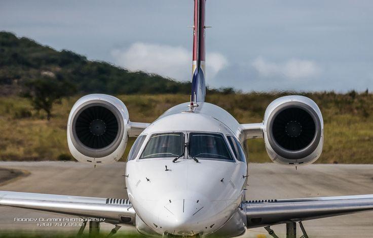 SA Airlink landing at KMI