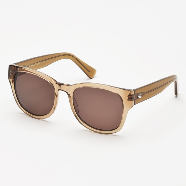 Eyewear - Kate Sylvester Sunglasses: Phoebe - Latte Clear
