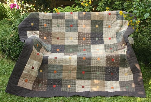 japanese squares - japanische Quadrate   LOVE THIS QUILT
