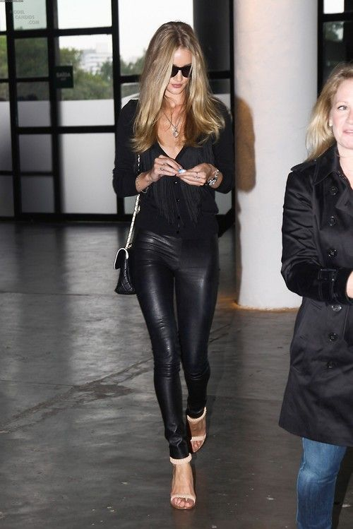 Is it bad that I want a pair of black skin tight leather pants!? Cause I do!