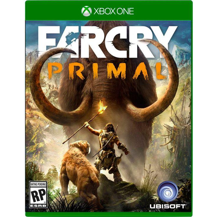 Xbox One Far Cry Primal; Bienvenido a la Edad de Piedra una época de grandes peligros y aventuras sin límite en la que los gigantescos mamuts y tigres dientes de sable dominaban la faz de la tierra y la humanidad estaba al fondo de la cadena alimentici