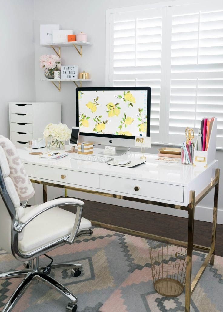 Your Guide To White Desk Pinterest For Your Home Home Office Decor Home Office Space Home Decor