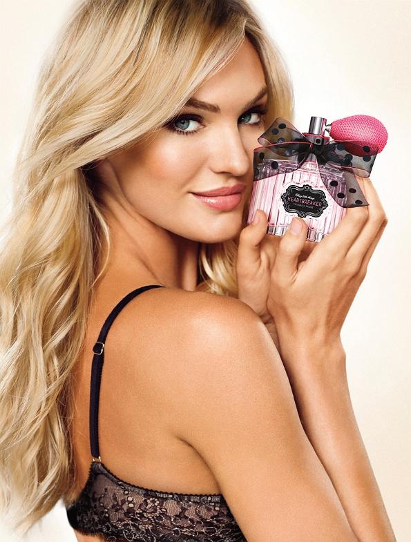 Candice Swanepoel: new fragrance — Heartbreaker