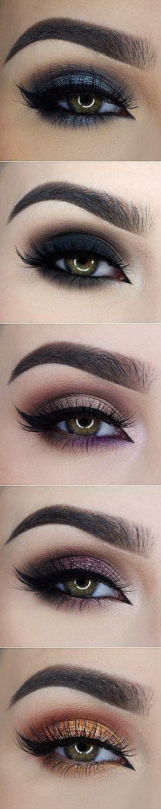Макияж для зеленых глаз....♥ Deniz ♥