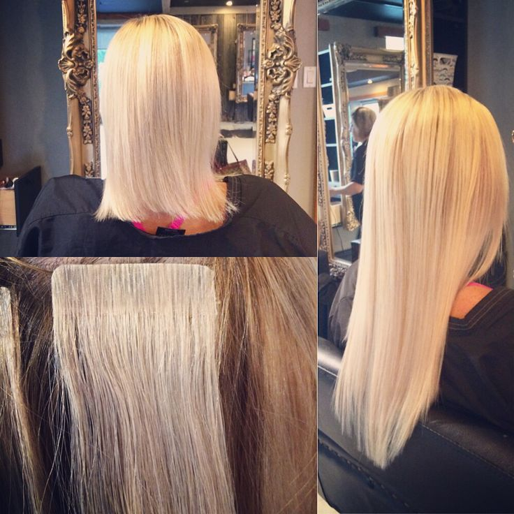 and double tape extensions