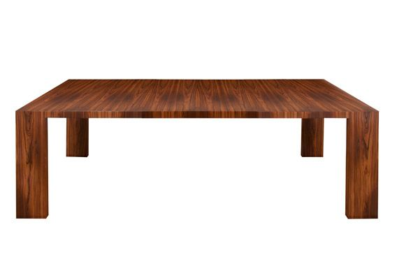 veneer nutwood dining table | polima by alexandrapires