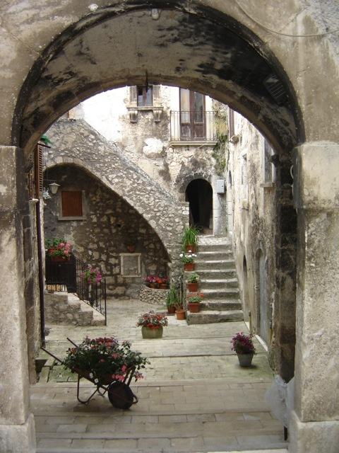 St Stefano Di Sessanio Abruzzo Italy