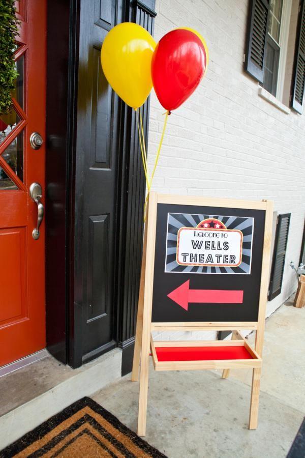 Vintage Movie Birthday Party Planning Ideas
