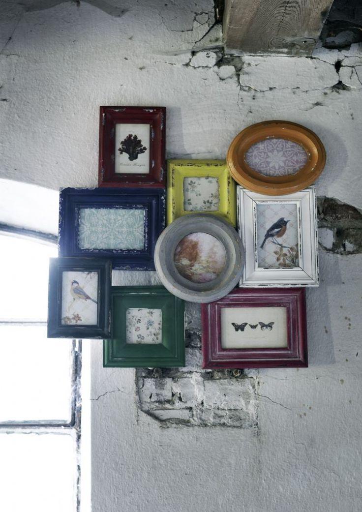 Multi Picture Frame 9   i love retro