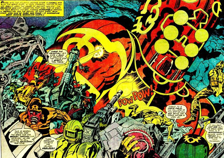 Jack Kirby - Eternals