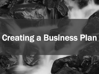 Creating a small business plan