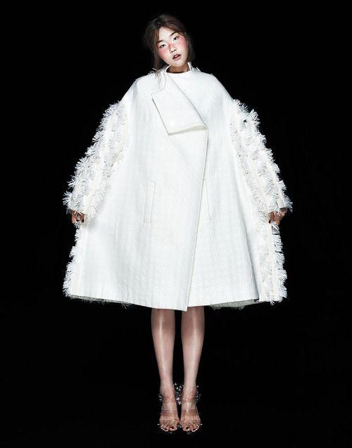 Sculptural Fashion with voluminous silhouette & textured surface detail; 3D fashion // Minju Kim