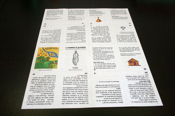 Etape 1 : imprimez recto/verso l'aventure