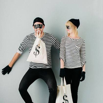 Bank robber costumes