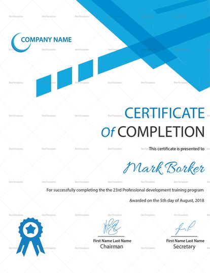 Best Professional Certificate Templates Images On