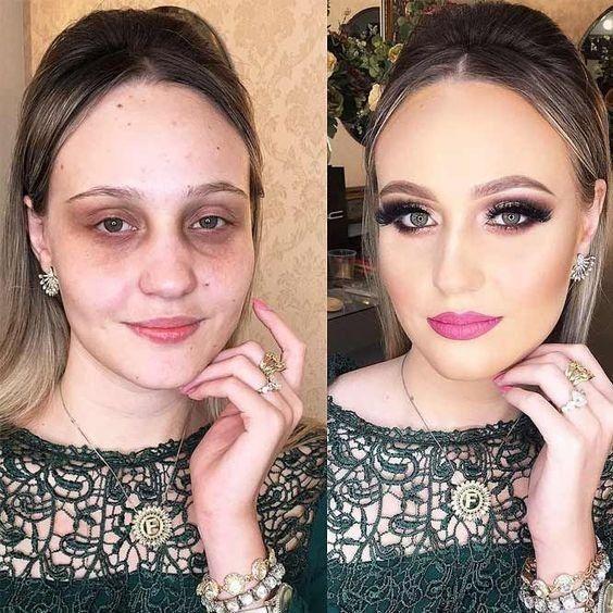 Aprenda a Fazer Maquiagem Profissional em 2020 | Curso maquiagem, Como fazer maquiagem, Transformação com maquiagem