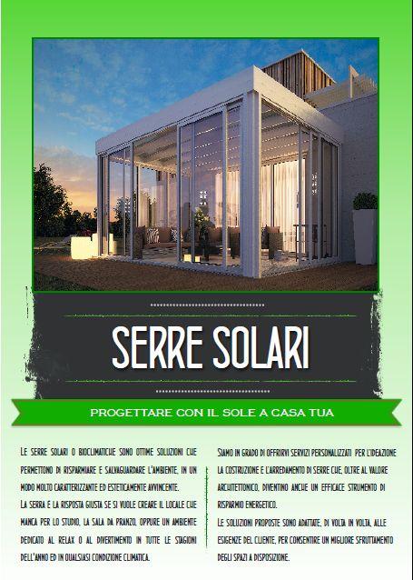Perchè scegliere di costruire una serra solare? I vantaggi sono molteplici, contattaci per saperne di più www.studiotecnicogreco.com