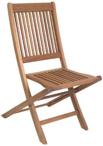 Superior This Contemporary Style Wood Folding Chair Provides Excellent Seating  Options For Any Patio. Made From Eucalyptus Wood, This Chair Is Durable And  ...