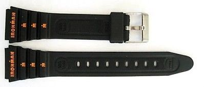 Timex 19mm #black ironman #triathlon vintage rubber sport watch band #strap,  View more on the LINK: 	http://www.zeppy.io/product/gb/2/111912592791/