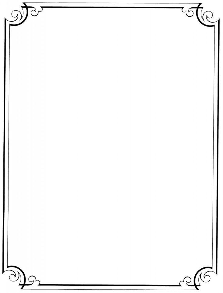 1007 best boarders and frames images on pinterest frames for Paper border