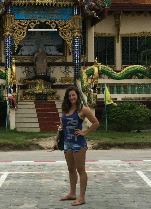 Miesha Tate UFC Champion in Thailand.