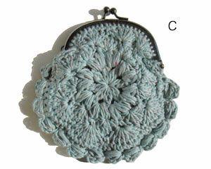 Solountip.com: Precioso Monedero tejido en crochet