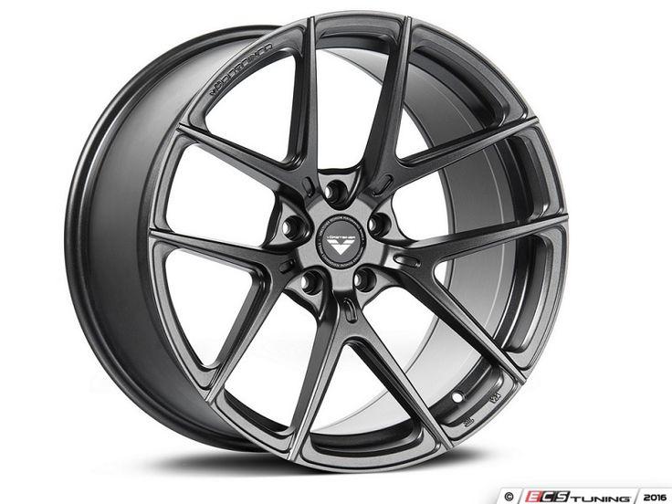 ES#3075775 - 10119GMW204Fkt - 19 V-FF 101 Style Wheels - Set Of Four - 19x8.5 ET45 66.6CB 5x112 Carbon Graphite - Vorsteiner - Audi Mercedes Benz